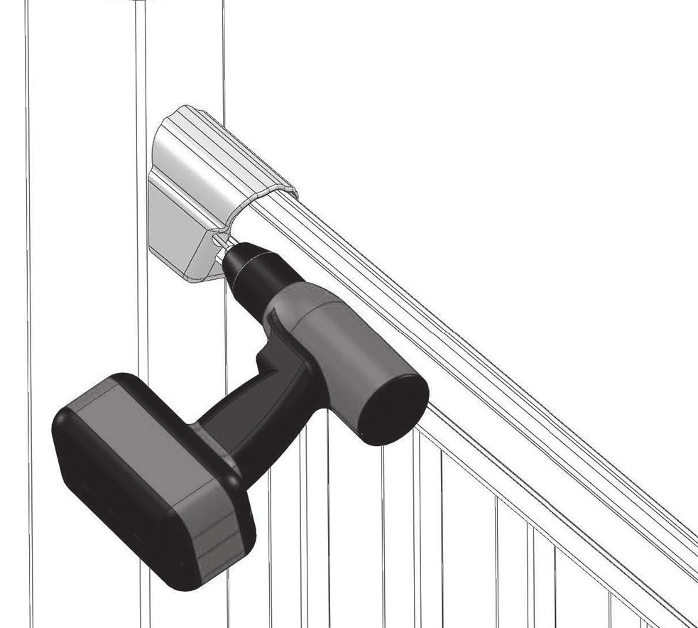 DELUXE/TRADITIONAL RAILING INSTALLATION INSTRUCTIONS - PDF
