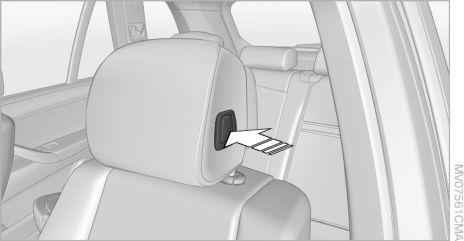 contents a z owner s manual for vehicle the ultimate driving Rolls-Royce Phantom 2003 controls adjusting bmw x5 push the head restraints of the 3rd row seats into the