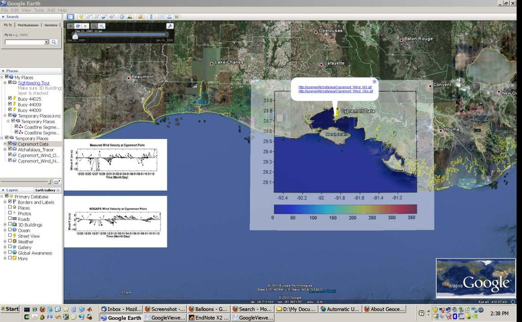 Geospatial Analysis and Model Evaluation Software (GAMES