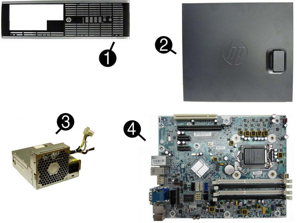 Small Form Factor (SFF) chassis spare parts Computer major components Item  Description Spare part
