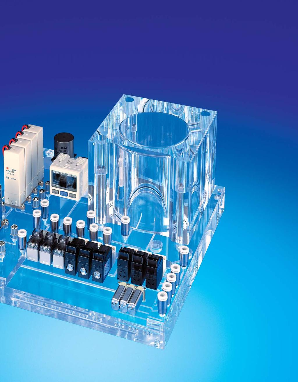 Smc Life Science Analytical Instrumentation Microfluidics Pdf Manifold Block Wiring Diagram Offers You The Benefit Of Single Source Supply Plastic Manifolds And Valves