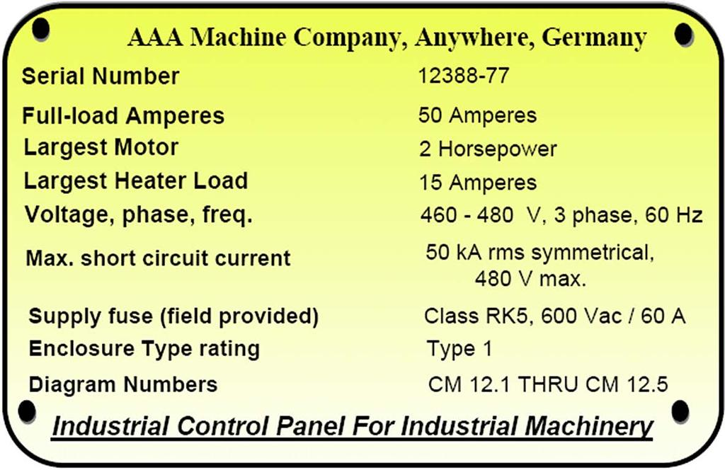 Industrial Control Panels and Electrical Equipment of Industrial