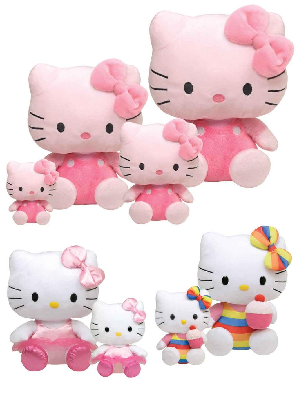 """40894 TY Hello Kitty Beanie Babies PINK 6"""" BRAND NEW with TAGS"""