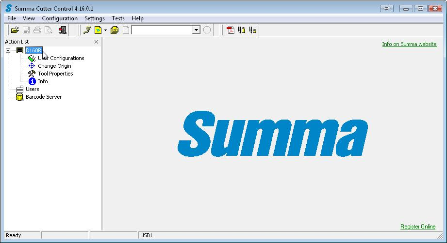 Summa Cutter Tools  User s Manual Rev 7 - PDF