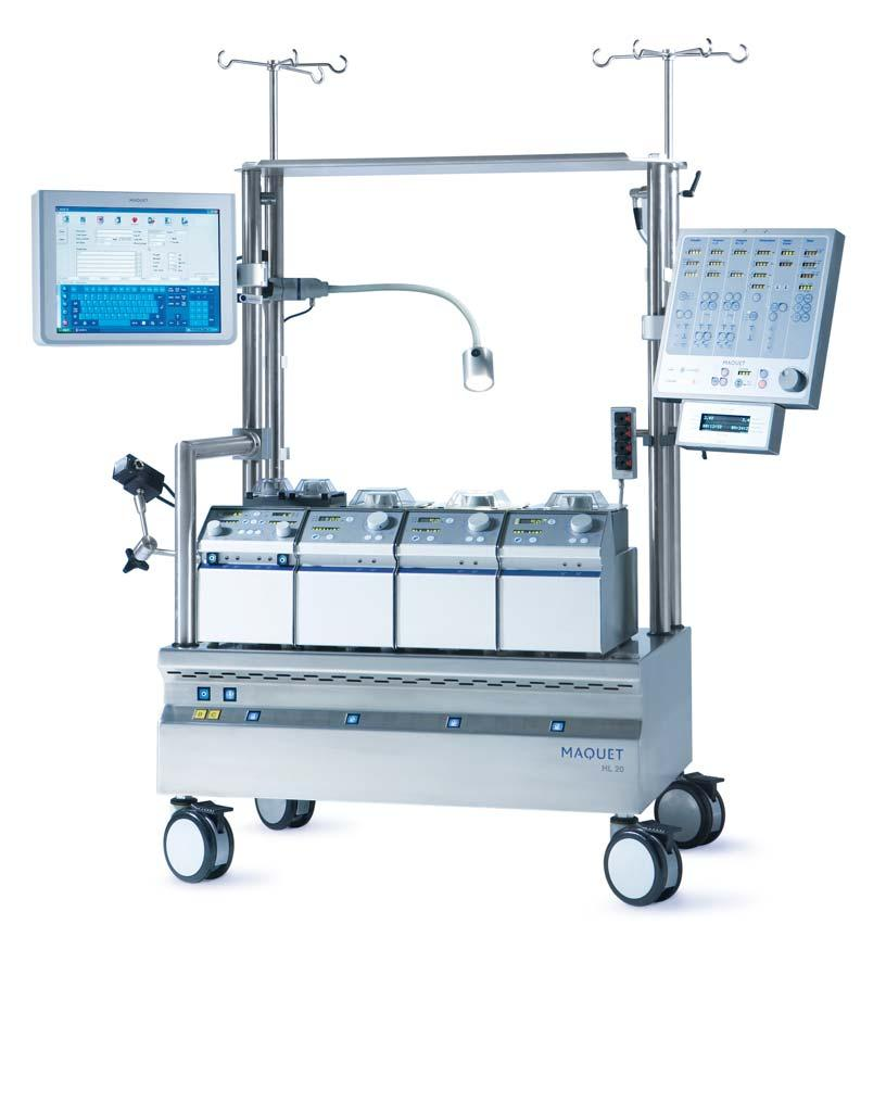 Cardiovascular MAQUET HL 20 5 MAQUET HL 20 PERFUSION SYSTEM OVERVIEW  RELIABLE, FLEXIBLE AND ADAPTABLE
