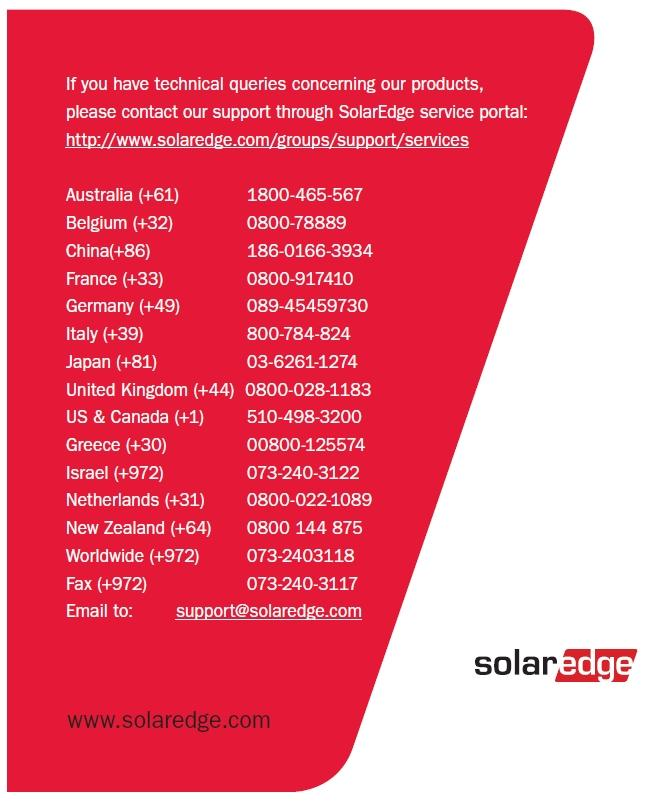 SolarEdge  HD-Wave Inverter Installation Guide  For Europe