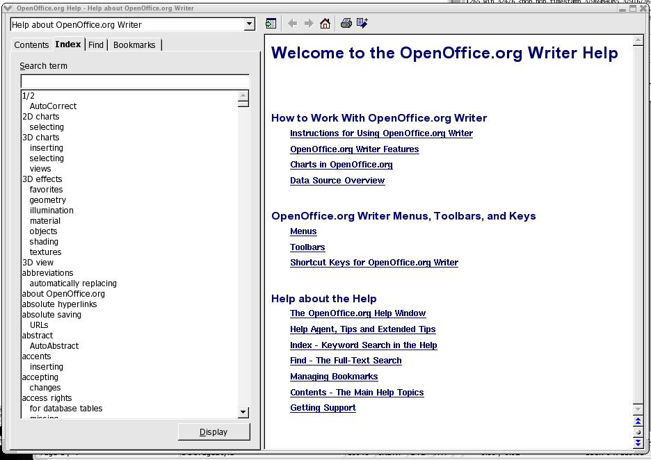 OpenOffice org User Guide for Version 2 x - PDF