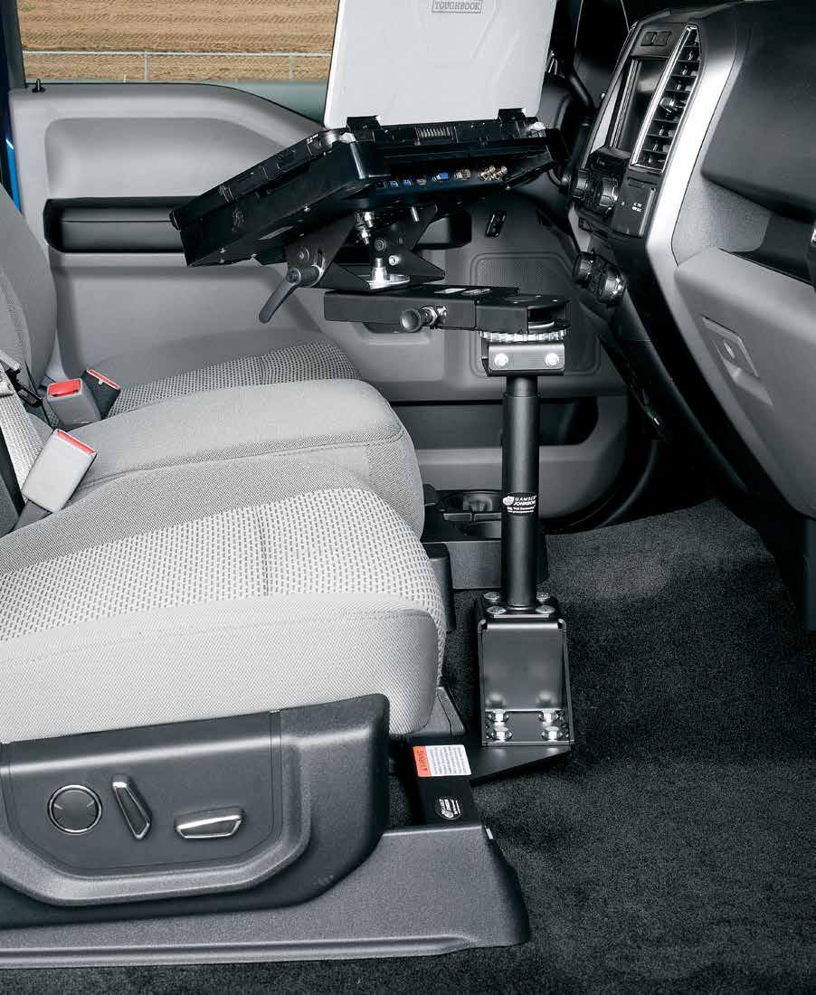 2016 Mounting Equipment Catalog Pdf Unitrol Touchmaster Wiring Diagram Vehicle Bases 7160 0510 Page 20 Installed In A Chevrolet Silverado Tahoe