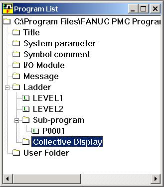 FANUC OPEN CNC OPERRATOR S MANUAL  Ladder Editing Package