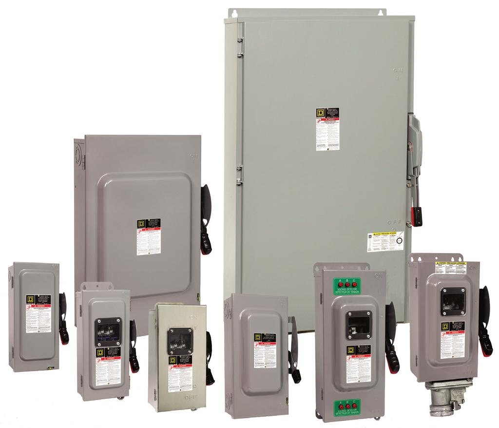 Enclosed Safety Switches Pdf Circuit Breaker Enclosure Catalog 0ct12 16 Class 0 Contents Description