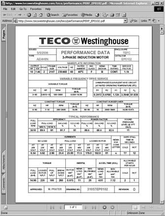 enter the teco-westinghouse part number or catalog number in the quick  search box located