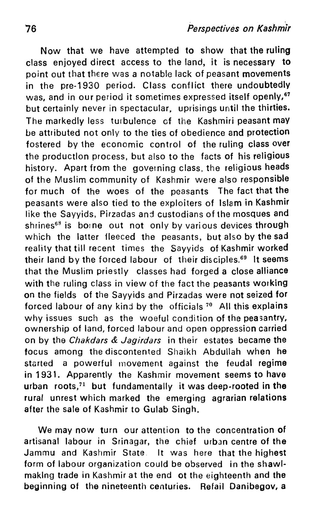 Perspectives on Kashmir - PDF