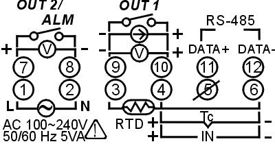 CN7500/CN7800 Temperature Controller Instruction Sheet - PDF on