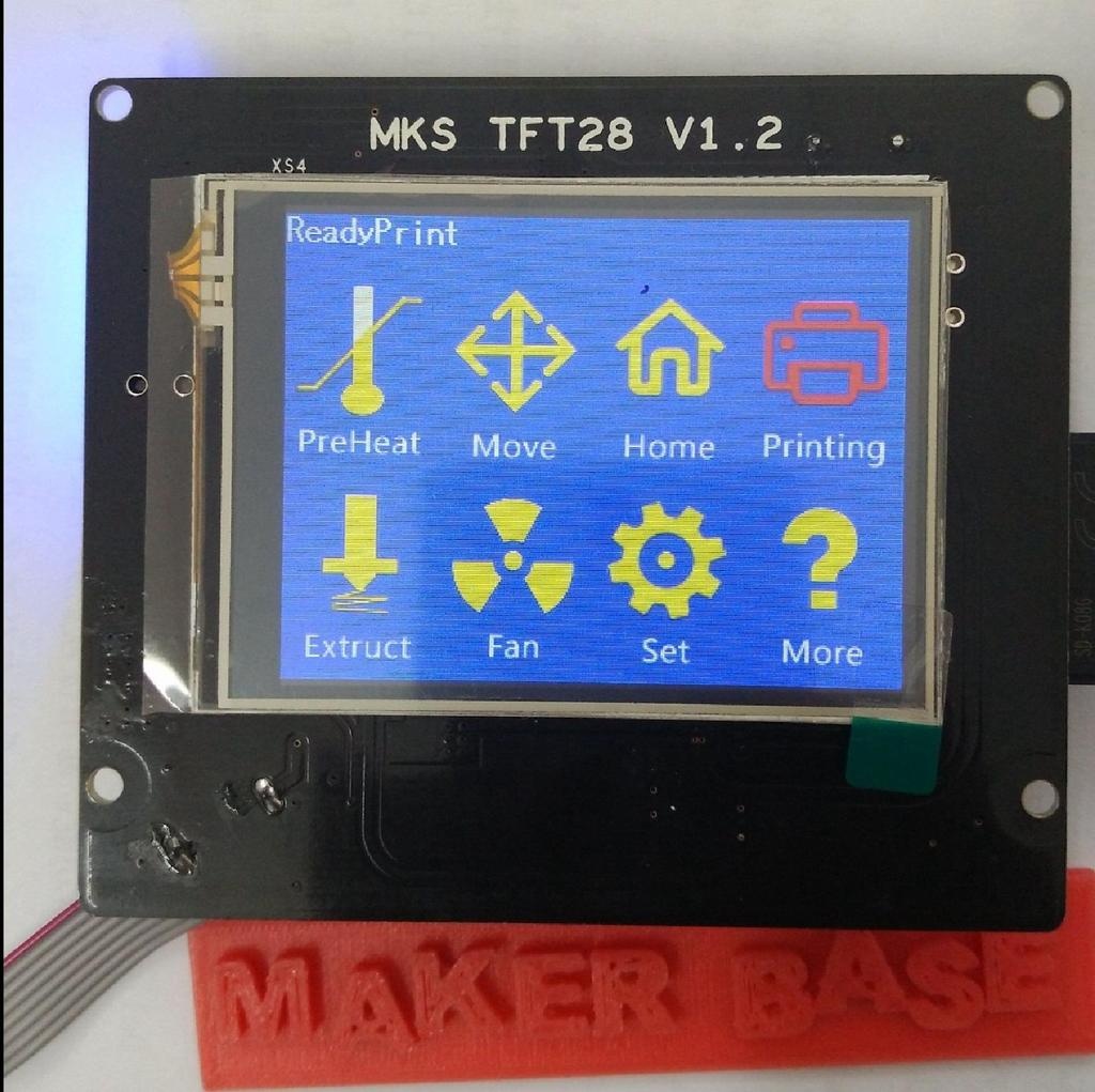 MKS-TFT28  MkS-TFT28 is suitable for many main board, such