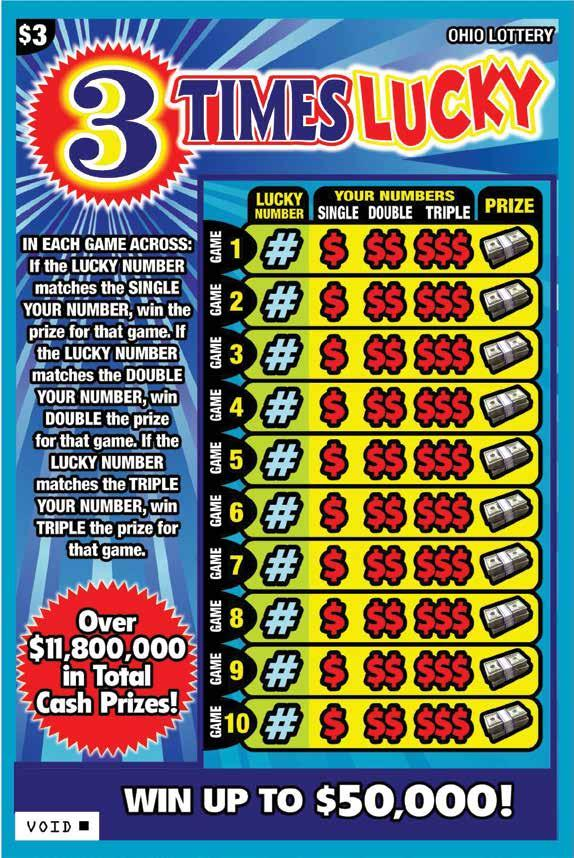 TICKET SELLER  The Official Magazine for Ohio Lottery