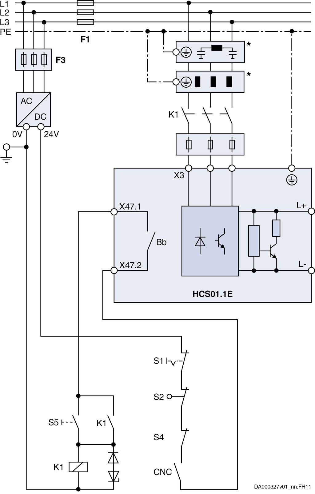 Rexroth Indradrive Cs Drive Systems With Hcs01 Pdf Wiring Circuit Supplied The Control Unit 104 341 Bosch Ag Dok Indrv