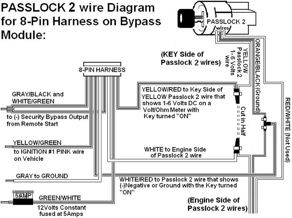 Passlock 3 Wire Diagram - Wiring Diagrams ROCK