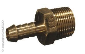 "NPT 1//4/"" Male Brass Elbow 5//16/"" 7.94mm Hose Barb Tail Thread Fitting Connector"