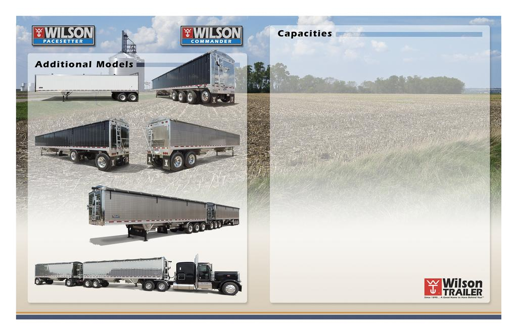 Wilson Quality Aluminum Double Wall Hopper Bottom Trailers ... on