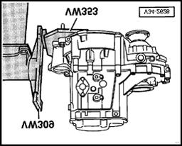 5 spd manual transmission 02a pdf 1939 Chevy Wheels dismantling mount transmission on repair stand