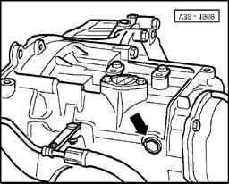 5 spd manual transmission 02a pdf 1939 Chevy Steering Column gear selector mechanism servicing page 49 of 49 34 49 transmission oil level