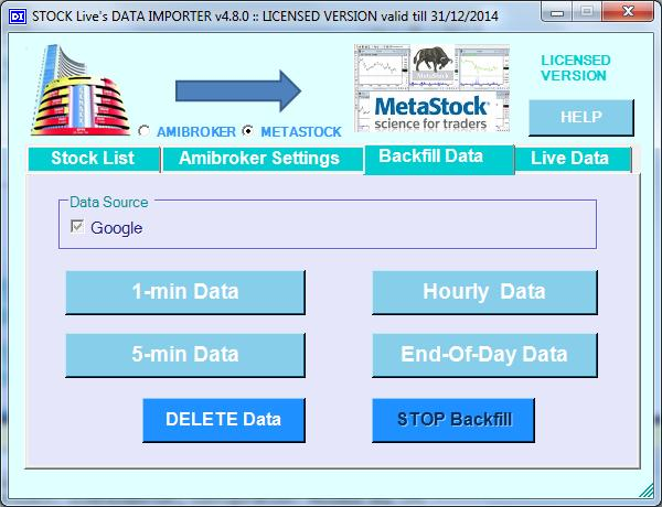 DATA IMPORTER for AmiBroker - PDF