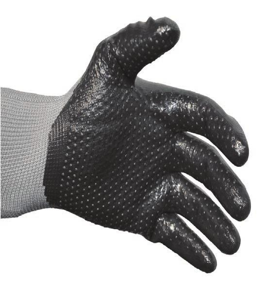 Radians Rwg603M Rwg603 Cut Protection high impact Nitrile Coated Glove x-large D
