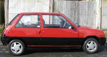 Pièces Origines With Traditional Methods R19 Lovely Autocollant Renault Super 5 Clio