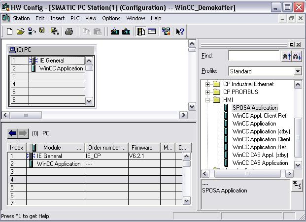 WinCC Examples of integrated engineering with STEP 7  WinCC