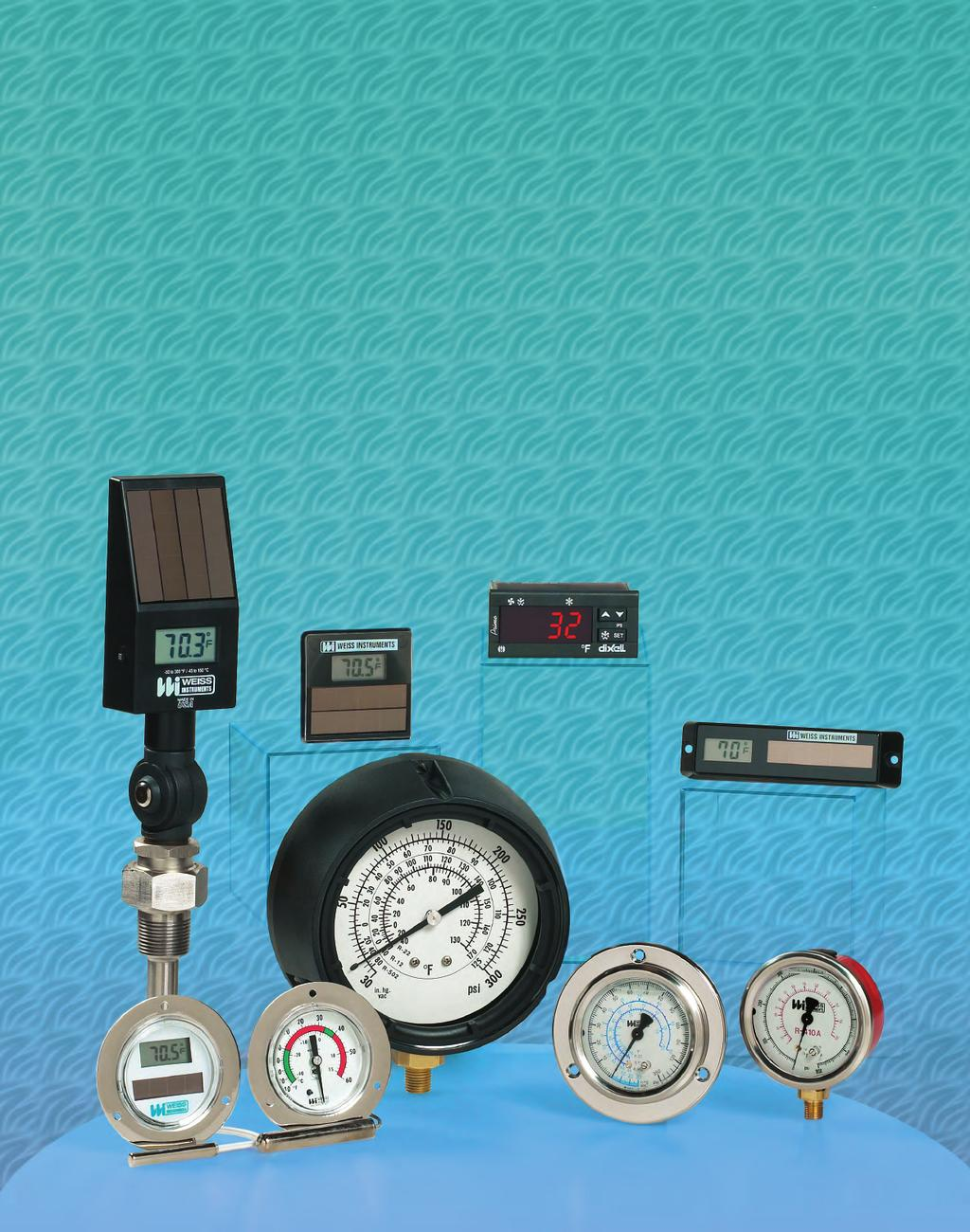 Thermometers Pressure Gauges Hvac R Instruments Pdf Manifold Value R22 Single Gauge Accurate 1