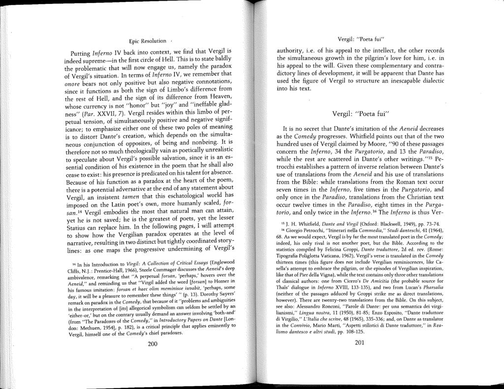 15 J  H  Whitfield, Dante and Virgil (Oxford: Blackwell, 1949), pp - PDF