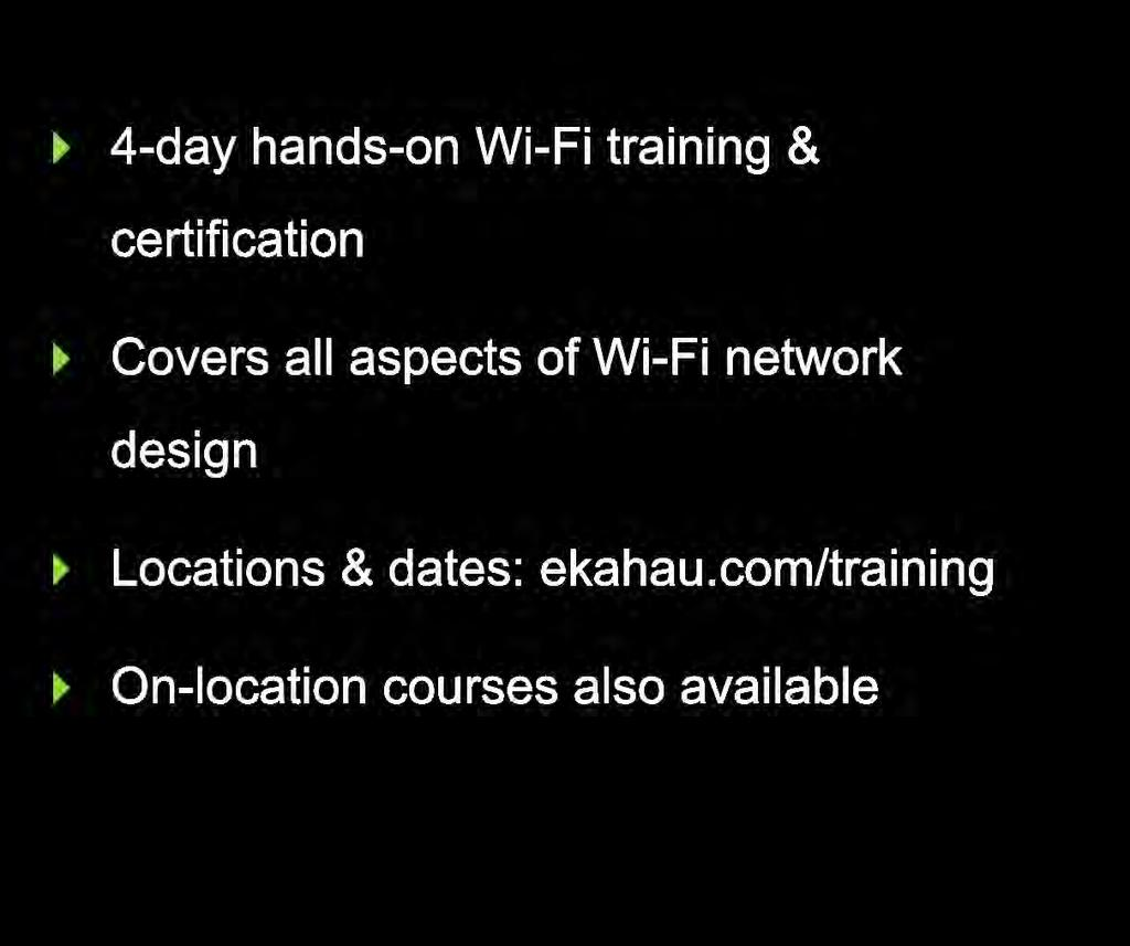 Wi-Fi Capacity Planning  Ekahau Site Survey 9 0 Preview - PDF