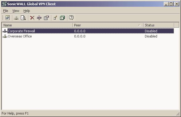 COMPREHENSIVE INTERNET SECURITY SONICWALL GLOBAL VPN CLIENT 1 0