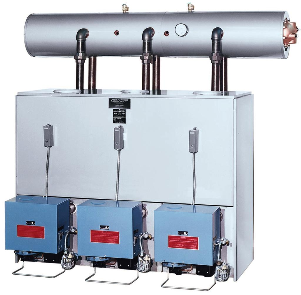 MTW1-3. Modular Boilers. Gas, Oil, and Dual Fuel Cast Iron Hot Water ...