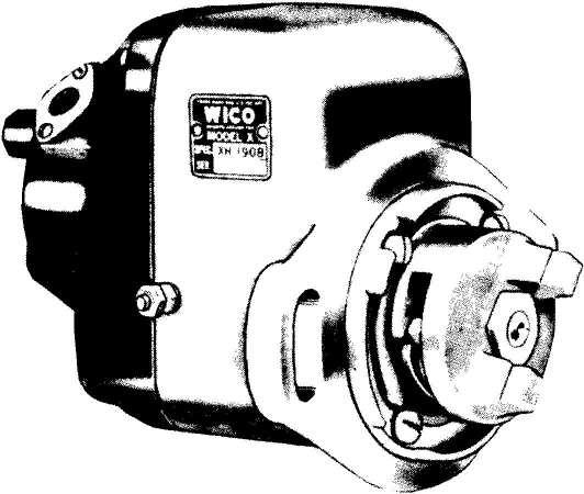 WICO CA TERPILLAR SERVICE INSTRUCTIONS AND PARTS LIST WEST