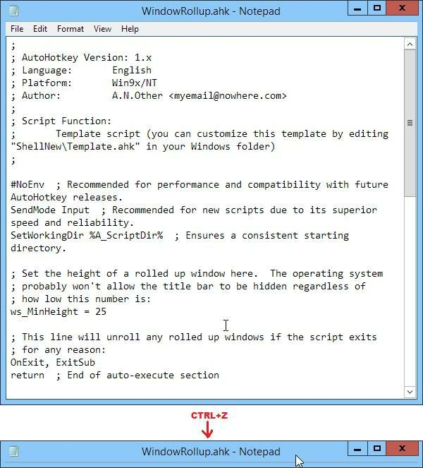 AutoHotkey Tricks You Ought To Do With Windows By Jack
