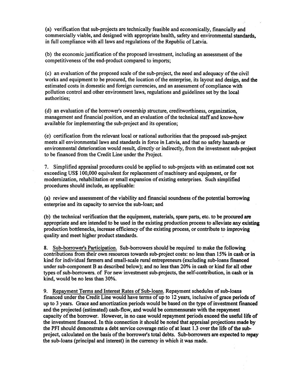 Document of The World Bank ONA PROPOSED LOAN TO THE 'OR A