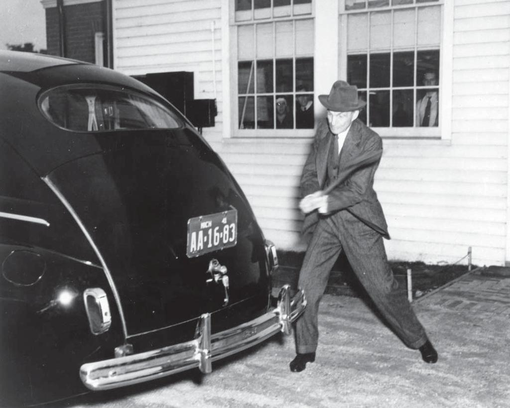 HENRY FORD AND HIS RESEARCHERS - HISTORY OF THEIR WORK WITH SOYBEANS
