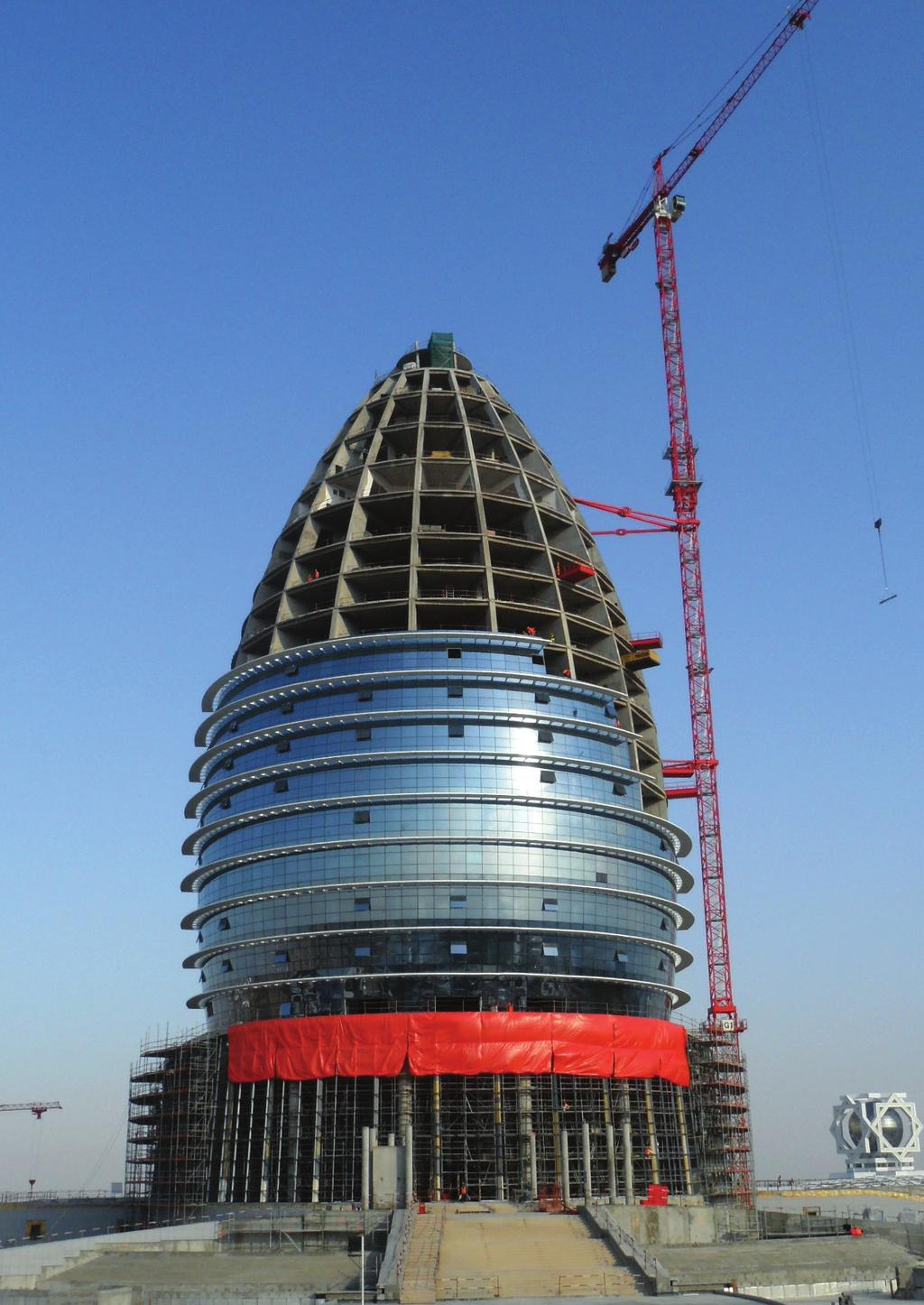 Lift Solutions An Exceptional Know How Pdf Diagram Potain Tower Crane Specification Software Block Basic Turkmenistan Luxury Hotel In Ashgabat A Md 265 B Erected On Mixed Masts