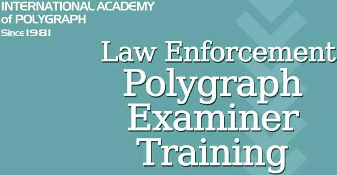 APA MAGAZINE  The Magazine for the Polygraph Professional