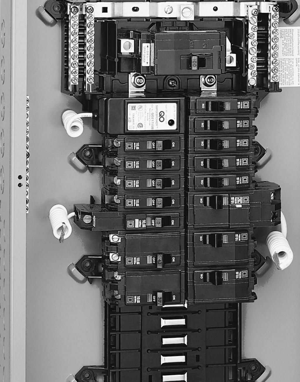 Loadcentres And Circuit Breakers Pdf Afci Fundamentals Arc Fault Interrupter General Information Breaker Branches Cafi Combination