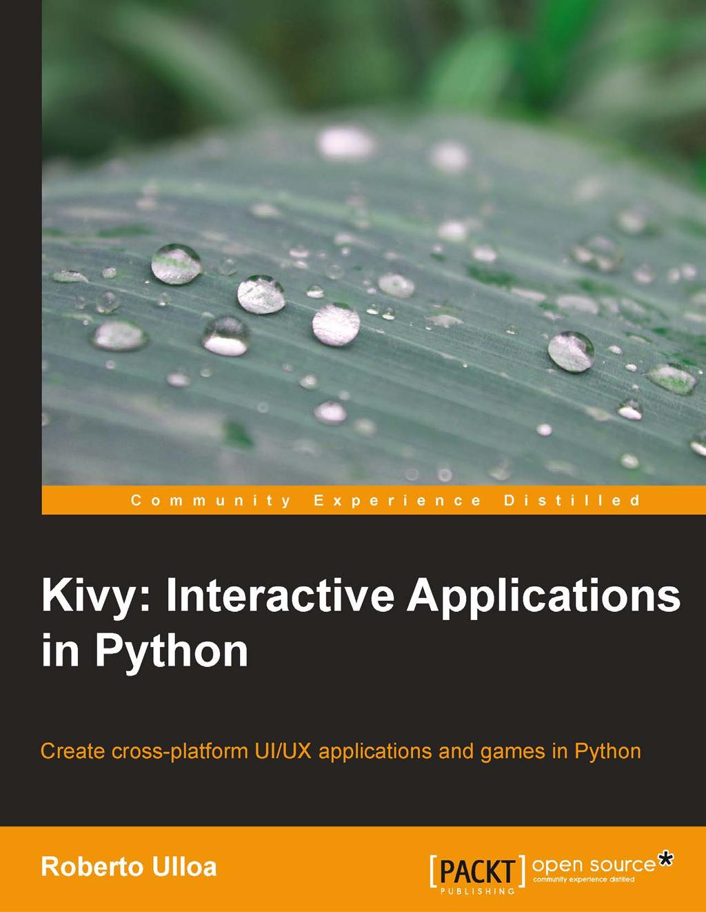 Kivy: Interactive Applications in Python - PDF