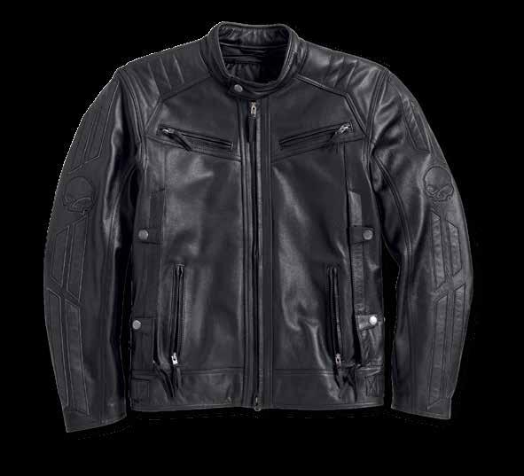 4e58745d2b6 MEN S HARLEY-DAVIDSON TRIPLE VENT SYS- TEM TM DRAUGER LEATHER JACKET NEW  The new