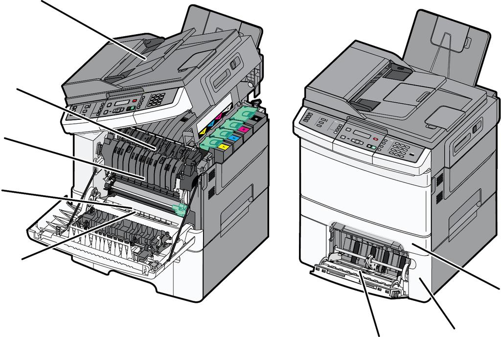 Lexmark C54x/X54x  Color Product Study Guide - PDF
