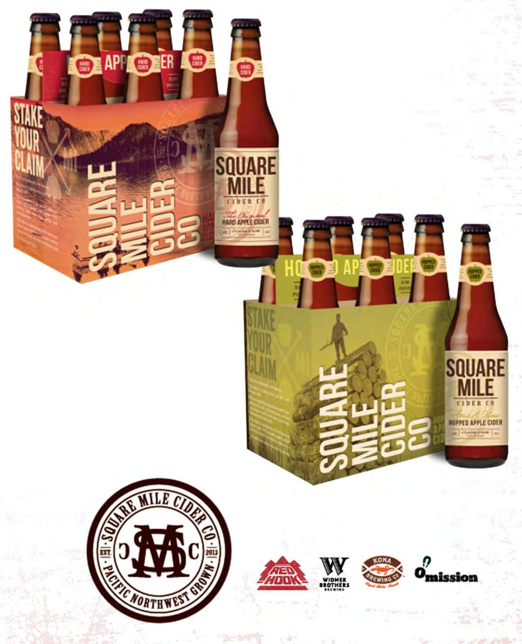 Appendix Square Mile Cider Company 2013 launch and expansion to 10 states Varietals: The