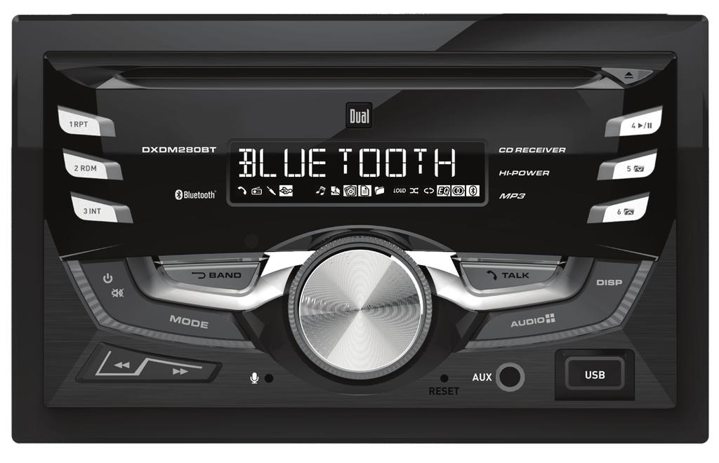 DXDM280BT INSTALLATION/OWNER'S MANUAL  AM/FM/CD Receiver - PDF
