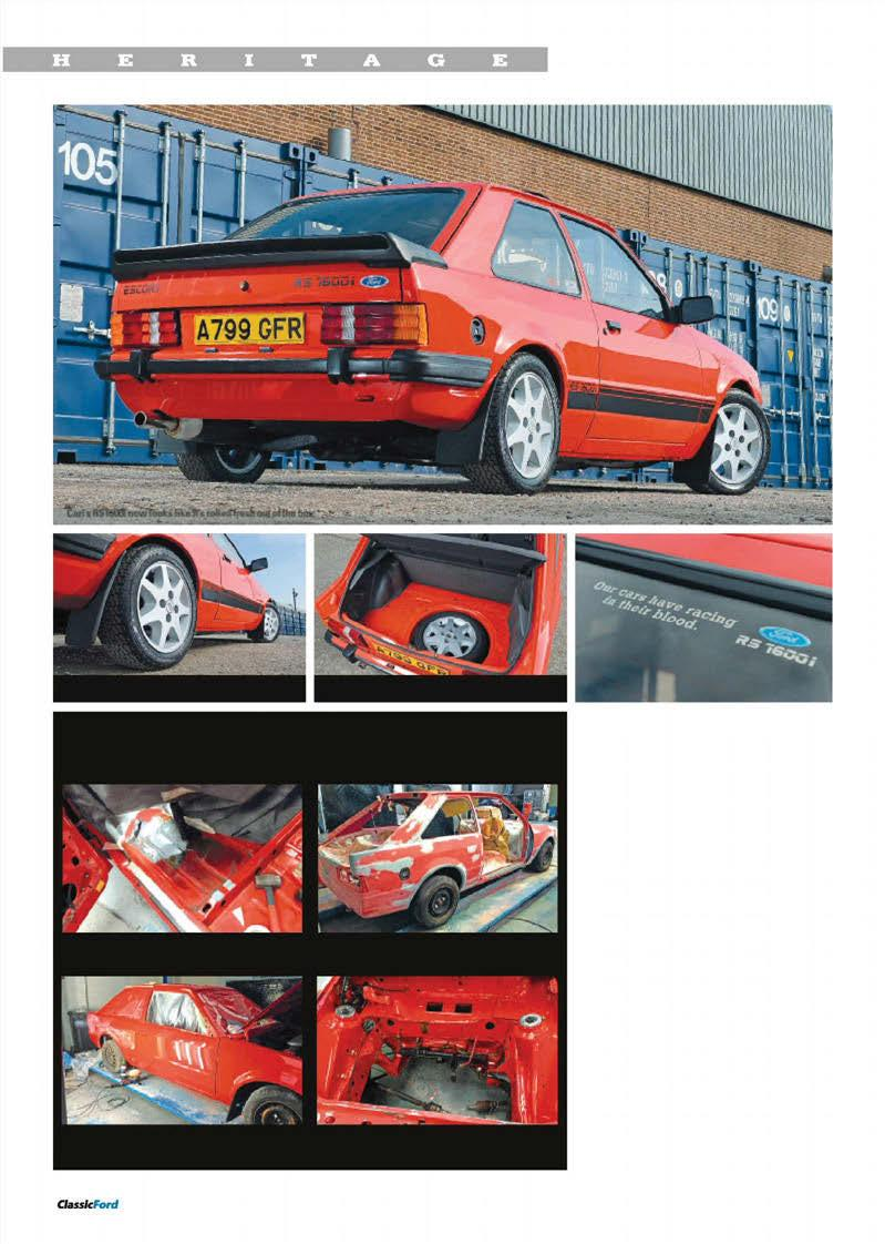 Street Fighters Escort Rs1600i Anglia Aces 1600 Sport Capri 5 Litre 1985 Audi 4000s Engine Central Fuse Box Diagram Carl S Now Looks Like It Rolled Fresh Out Of The
