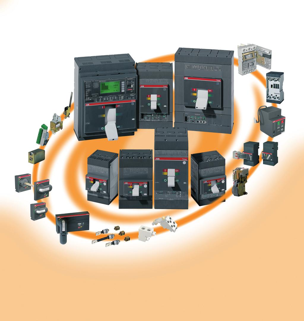 Short Form Catalogue Power Breakers Tmax Moulded Case Circuit Breaker Integral Temperature Monitoring For Advance Detection Starting From The Fixed Version All Other Versions Used Various
