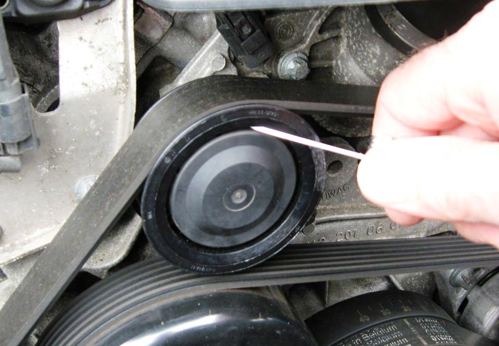 Idler Pulley Replacement DIY: M112 and M113 Engines - PDF