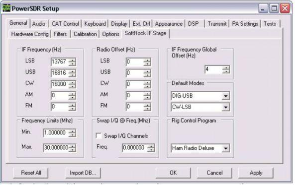 Contents  PowerSDR Software For Software Defined Radio I F  Stage